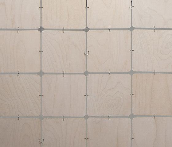 nolastar_wood nussbaum by Nola Star | Sound absorbing suspended panels