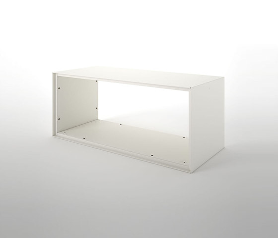 Primo Modular Elements   Open unit on both side by Dieffebi   Shelving