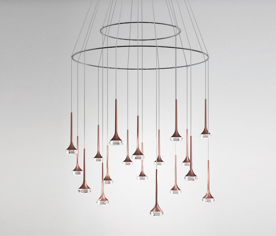 Fairy SP 18  bronze by Axolight | Suspended lights