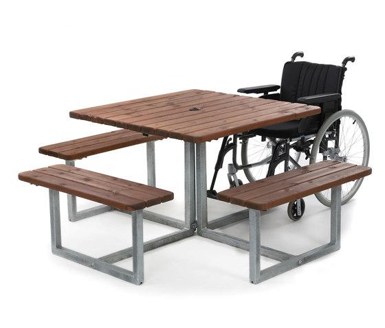 Skagen | Picnic Table de Hags | Bancs avec tables