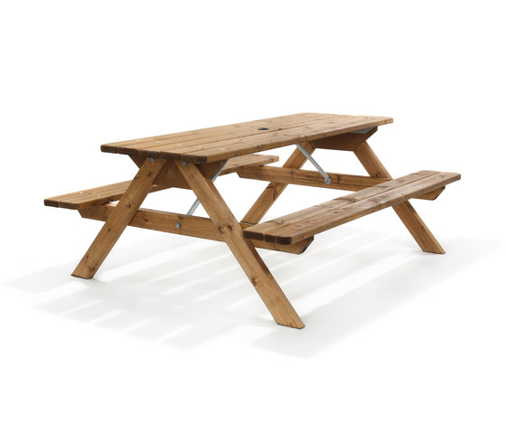 Träjon | Picnic Table by Hags | Tables and benches