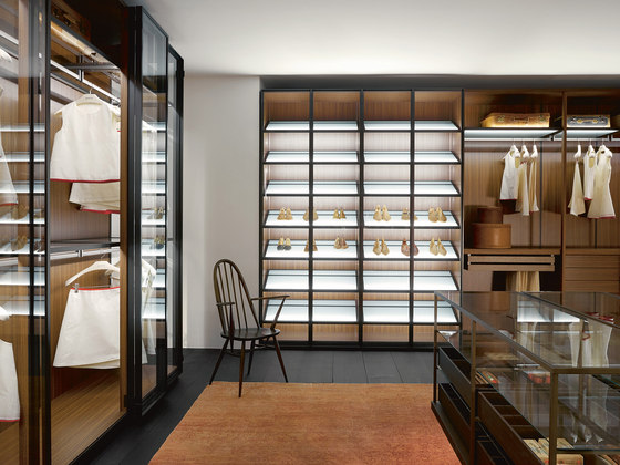 Storage Dressing Room di PORRO | Cabine armadio