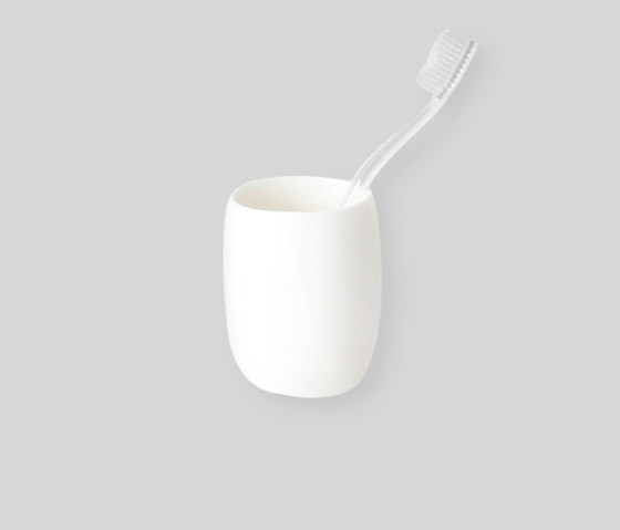 Bath | Bathroom Cup by Tina Frey Designs | Toothbrush holders