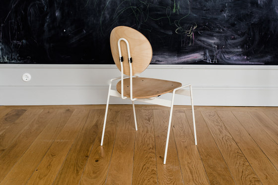 Blanko | White by Made by Choice | Chairs