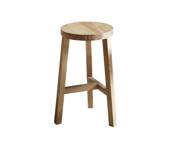 Lonna bar stool | Oak von Made by Choice | Barhocker