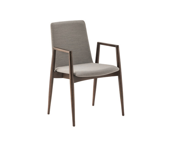 Pepper 2478 by BRUNE | Visitors chairs / Side chairs