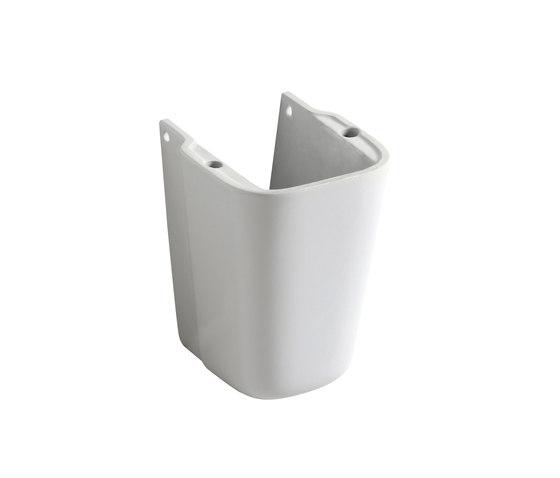 Clear - Semi-pedestal by Olympia Ceramica