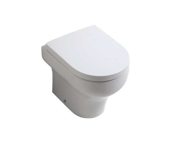 Clear - Wc Back to wall - S/P trap by Olympia Ceramica | WC