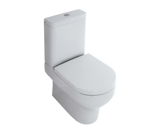Clear - Water closet pan with cistern bottom water entrance by Olympia Ceramica | WC