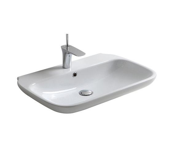 Clear - Lavabo by Olympia Ceramica   Wash basins