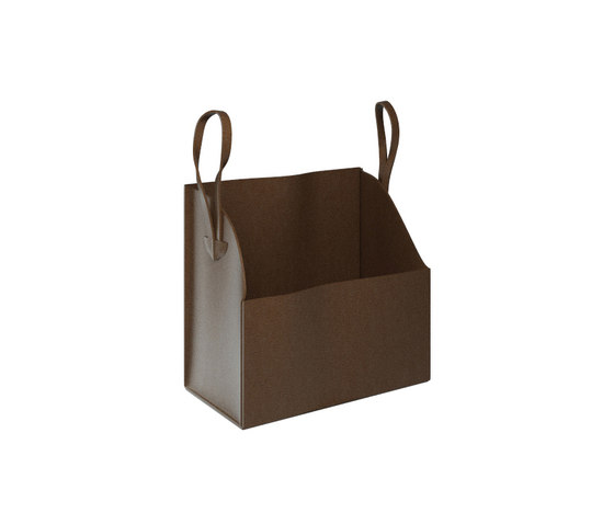 My Bag - My.bag leather bag with hook by Olympia Ceramica | Bath shelves