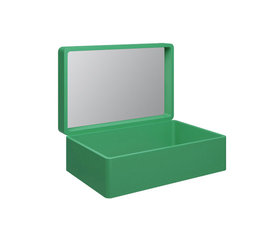 My Bag - My.bag basin suitcase with mirror by Olympia Ceramica | Mirror cabinets
