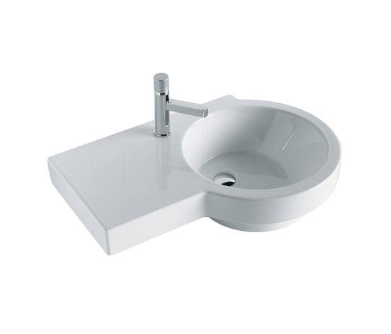Tutto Evo - Washbasin one hole by Olympia Ceramica | Wash basins