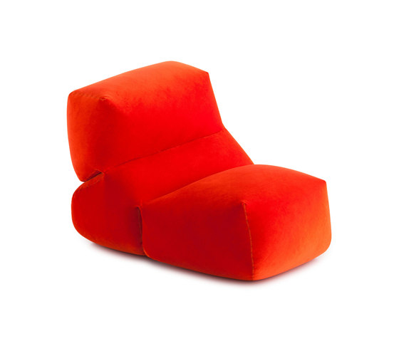 Grapy Soft Seat Red velvet 1 by GAN | Armchairs