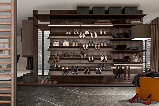 Varius by Presotto | Walk-in wardrobes