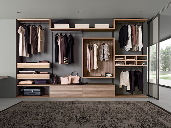 Varius | Free by Presotto | Walk-in wardrobes