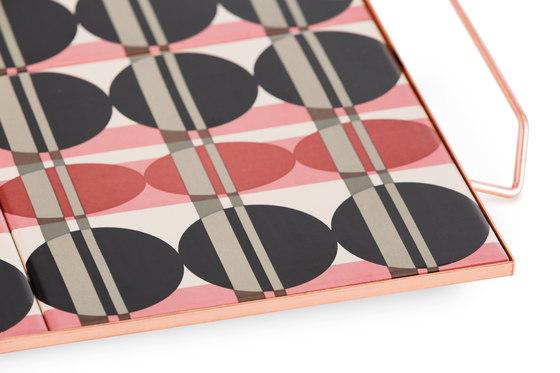 Mix & Match Tray 40x40 Pink 1 by GAN | Trays