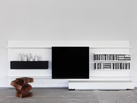 Modern Living by PORRO   Wall storage systems