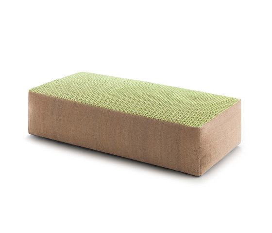 Raw Big Pouf Lima 1 by GAN | Poufs