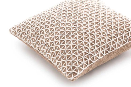 Raw Cushion White 2 by GAN | Cushions