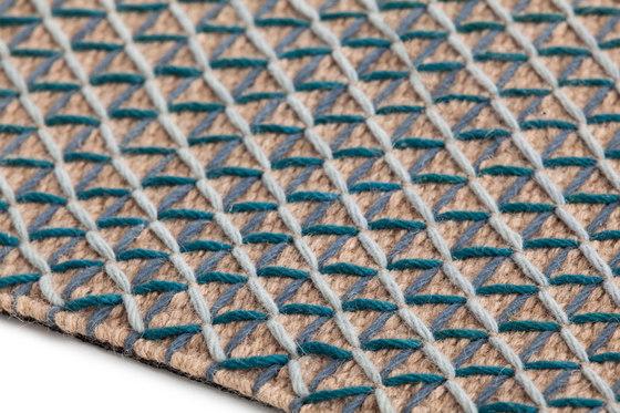 Raw Rug Blue 4 by GAN | Rugs