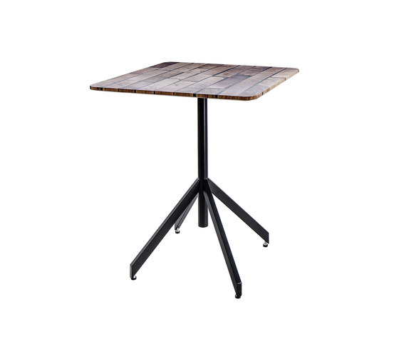 Augusto | square 65 by strasserthun. | Bistro tables