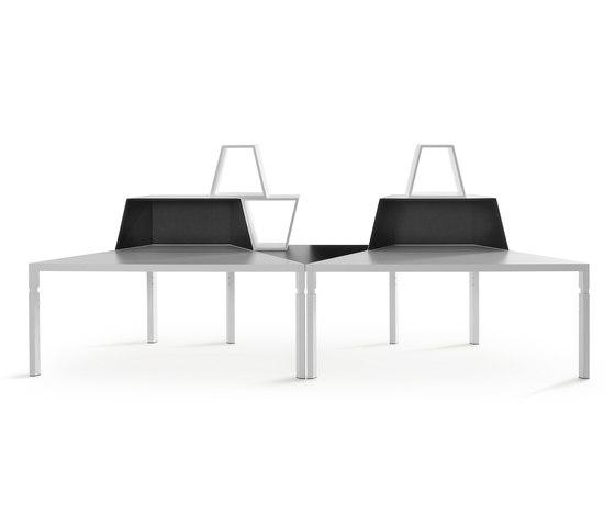 Trigon Workplace System von Lande | Tischsysteme