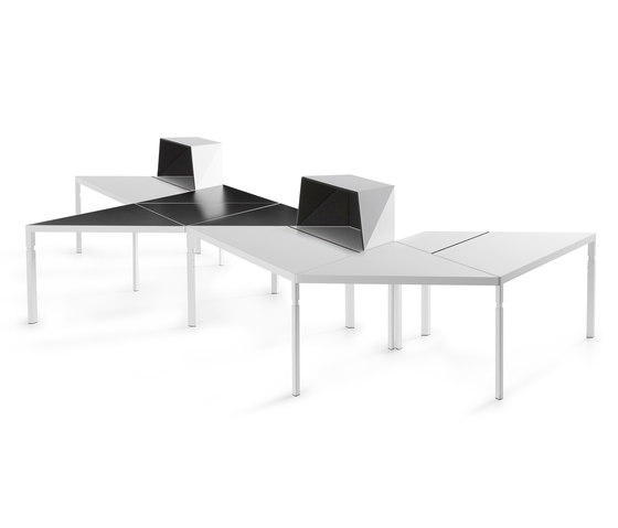 Trigon Workplace System by Lande | Desks