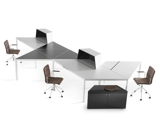 Trigon Workplace System di Lande | Scrivanie