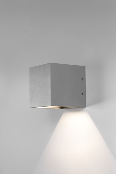 Cube Down LED by Light-Point | Wall lights