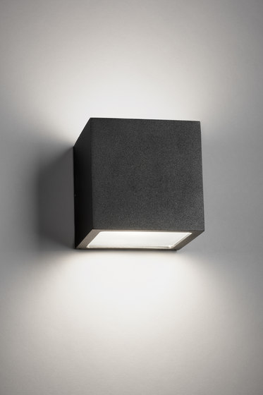 Cube XL Up Down E27 by Light-Point | Wall lights
