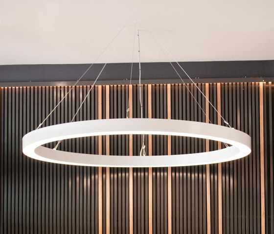 Anillo Ring Suspended Lights From Luxxbox Architonic
