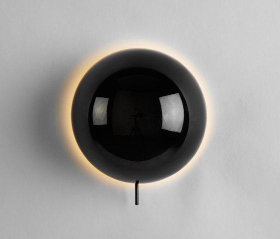 Eclipse Sconce (Black chrome) de Roll & Hill | Appliques murales