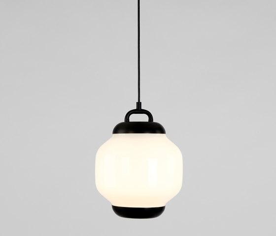 Esper Pendant 01 (Black/White) de Roll & Hill | Lámparas de suspensión