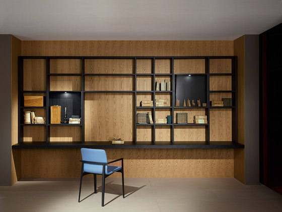 System by PORRO | Library shelving