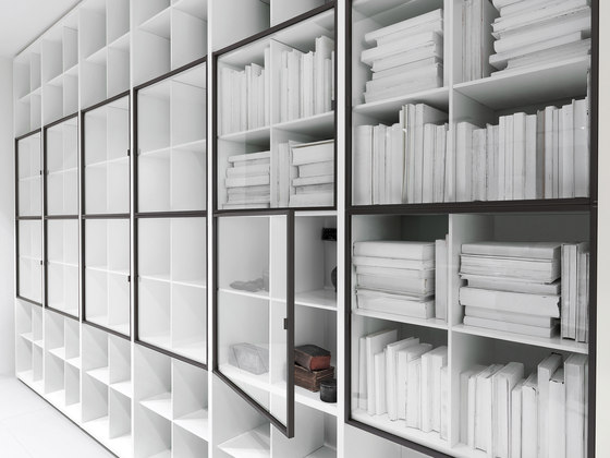 System by PORRO | Space dividing storage