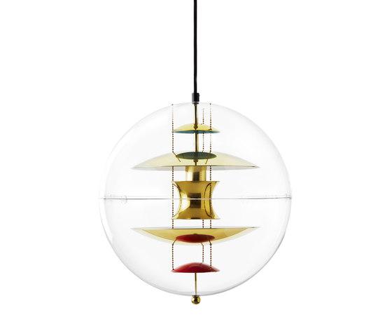 VP Globe   Brass - Pendant by Verpan   Suspended lights