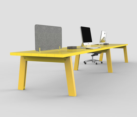 Slab   Table by Luxxbox   Contract tables