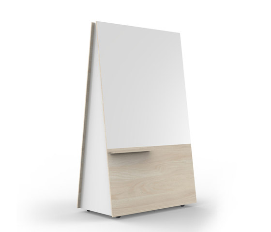 Wedge by Luxxbox | Flip charts / Writing boards