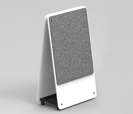 Wedge | Thought Board by Luxxbox | Flip charts / Writing boards