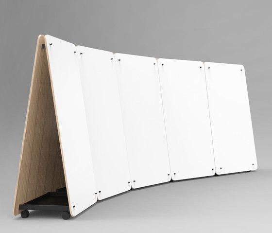 Wedge | Thought Board de Luxxbox | Chevalets de conférence / tableaux