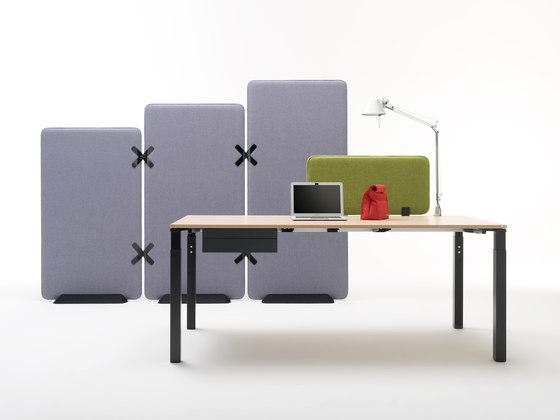 Winea X | Standing panel de WINI Büromöbel | Cabinas de oficina
