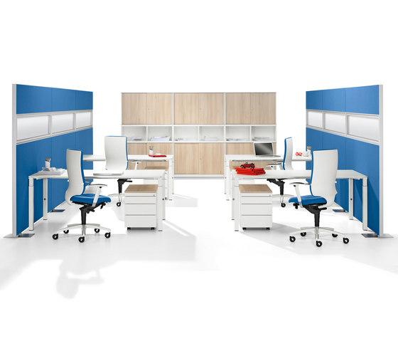 Winea Sinus | Freestanding Panels de WINI Büromöbel | Sistemas de mamparas