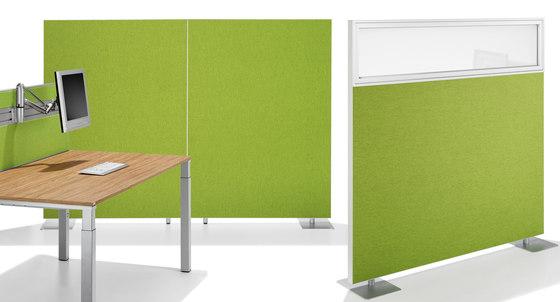 Winea Sinus | Freestanding Panels de WINI Büromöbel | Separación de ambientes