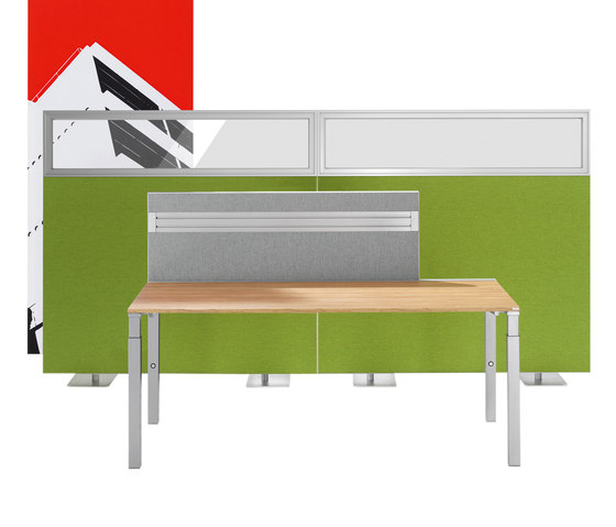 Winea Sinus | Freestanding Panels by WINI Büromöbel | Space dividing systems