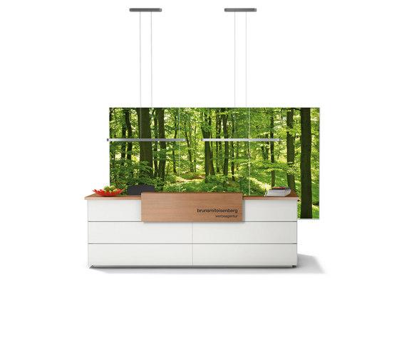 Winea Sinus | Wall Panel by WINI Büromöbel | Sound absorbing objects