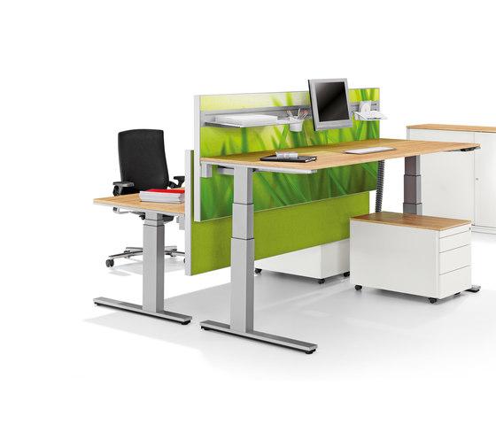 Winea Sinus | Table Panel by WINI Büromöbel | Table accessories