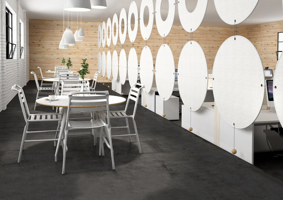My Place Air™ Air Group 1 by Wobedo Design | Sound absorbing room divider