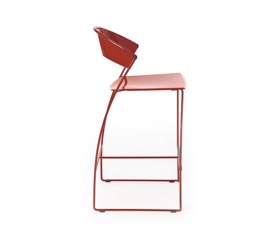 Juliette kitchen stool by Baleri Italia by Hub Design | Bar stools