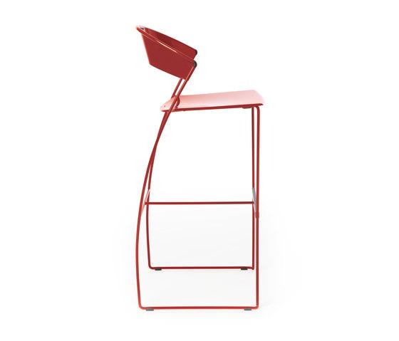 Juliette bar stool de Baleri Italia by Hub Design | Taburetes de bar